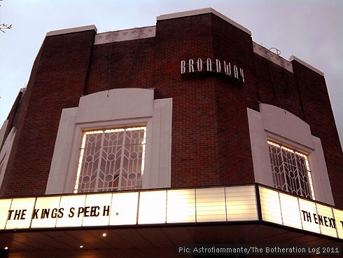 Broadway Cinema frontage, Letchworth