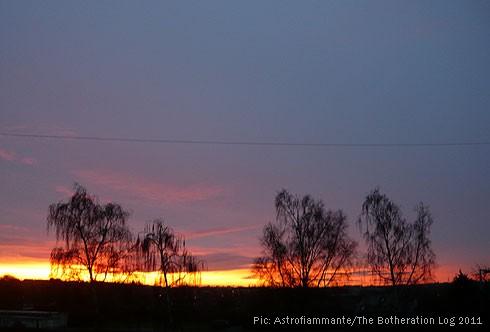 Sunrise in North Hertfordshire